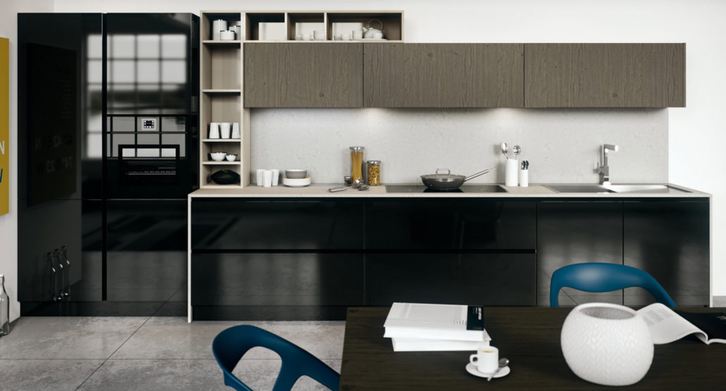 Cucina young easy living in stile urban cucinemoderne for Cucina arredo tre