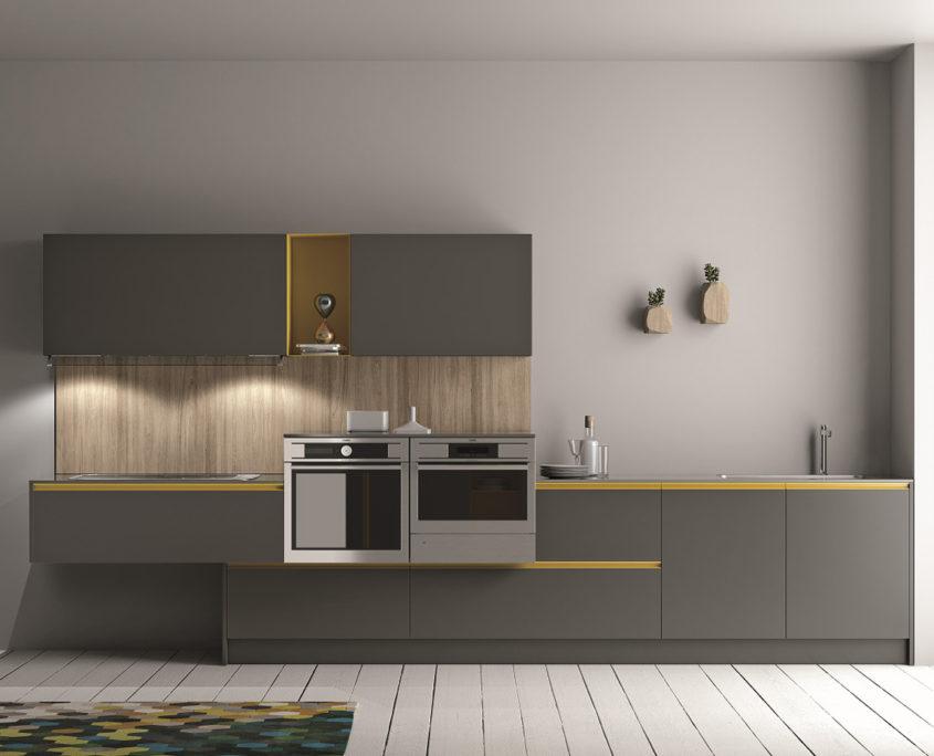 Maniglia o gola? Qual\'è l\'apertura più pratica in cucina ...