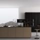 Rovere scuro termocotto per una cucina elegante e nobile